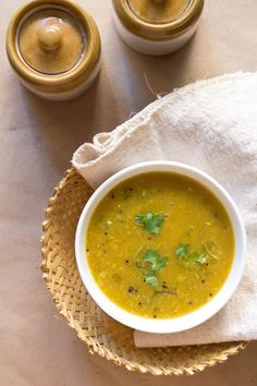 amti dal recipe - a slightly spicy, mildly sweet and lightly sour maharashtrian dal made from pigeon pea lentils or tuvar dal.