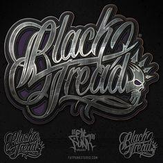 Custom logo/branding design for Black Tread.