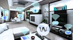 Home Automation   Domotic! Permits the remote control/programming of various apparatuses in order to make them react to external inputs.