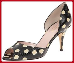 kate spade new york Women's Sage D'Orsay Pump, Black/Shell, 7 M US - All about women (*Amazon Partner-Link)
