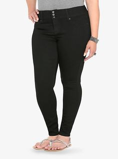5d1e19b04c9 Torrid Jegging - Black (Extra Tall) LOVE these Jeggings... Just as