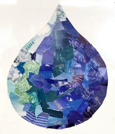 Earth Day Water Collage