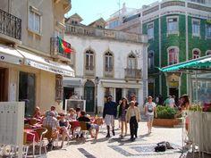 The historic centre of Lagos Algarve Portugal