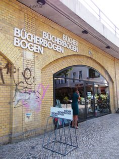 Bucherbogen, an art bookstore ~ Berlin,  Germany