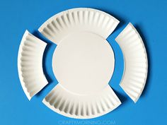 Supplies Needed: Paper plate Scissors Glue White paper Black sharpie Paint/sponge Start by cutting the above design. Sponge paint it with blue or pink and let dry. Cut out two eyes and glue them on. Use the extra piece of paper plate that you cut off and cut it skinnier. Glue it on to make …