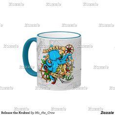 Release the Kraken! Ringer Mug