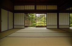 tatami mats - patterned screens