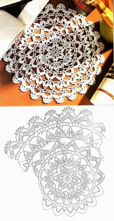 Breathtaking Crochet So You Can Comprehend Patterns Ideas. Stupefying Crochet So You Can Comprehend Patterns Ideas. Crochet Doily Diagram, Crochet Mandala Pattern, Crochet Circles, Crochet Chart, Crochet Squares, Thread Crochet, Filet Crochet, Crochet Doilies, Crochet Lace