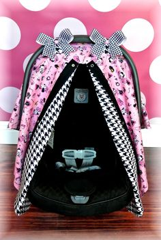 Jaydenandolivia.com   MINNIE MICKEY MOUSE carseat canopy car seat by JaydenandOlivia