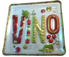 Vino Glass Fusion Plate by Lori Siebert  $29.95