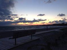 Sunset most beautiful.
