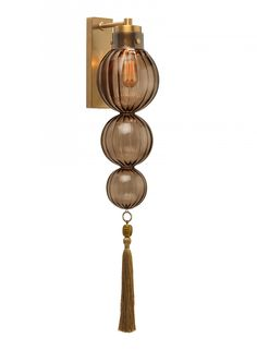 Accent Lighting Alternative Medina Smoke Wall 3 Ball - Heathfield & Co