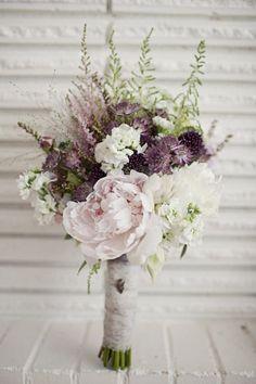 Rustic flowers - Wedding inspirations