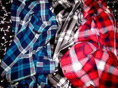 love. plaid & flannel shirts