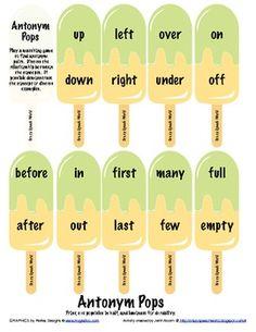 Rainbow Synonyms - Carrie's Speech Corner | Literacy Ideas ...