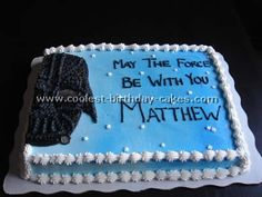 Coolest Darth Vader Picture Cake Gallery and How-To Tips