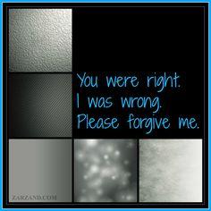 #Apologies #SayingImSorry ZARZAND.com