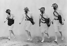 Nurses in gas-masks Retronaut | Retronaut - See the past like you wouldn't believe.
