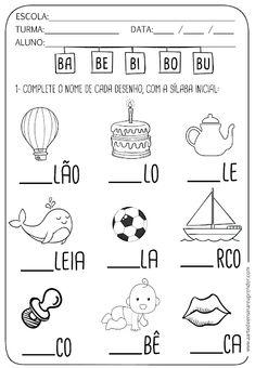 Kindergarten Math Worksheets, Preschool Learning Activities, Kindergarten Writing, Teaching Kids, Kids Learning, Reading Comprehension For Kids, Educational Games For Kids, English Activities, Homeschool