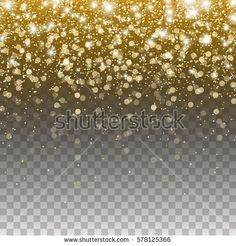 Related image Gold Confetti, Shooting Stars, Gold Glitter, Overlays, Image, Falling Stars, Overlay, Party Sparklers
