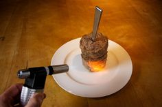 Technique-DIY Doner Kabob ~ The Guardian shares a great recipe for at home kabobs using a tin can and a blow torch. Use a little beef with the lamb. Turkish Recipes, Indian Food Recipes, Indian Food Culture, Doner Kebabs, Cooking Torch, What's Cooking, Cooking Classes Nyc, Great Recipes, Favorite Recipes