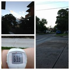 @shelley6724: Day 2   @AmeliaBurton #crackofarse #12wbtiw early morning walk for crack of arse! Least it wasn't raining :)