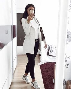Beautiful Casual Business Outfit for Ladies attire Beautiful - Business Attire Winter Outfits Women, Casual Winter Outfits, Classy Outfits, Trendy Outfits, Fall Outfits, Formal Outfits, Outfit Winter, Ladies Outfits, Women Casual Outfits