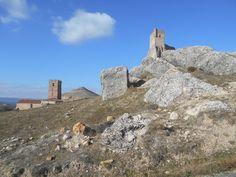 Torres de la Iglesia de Santa Maria del Rey y del Castillo de Atienza