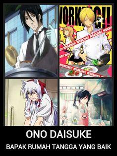 ono daisuke is good househushband (mean housewife LOL)