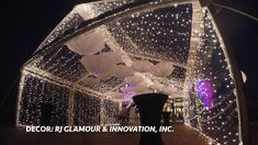 Celebrate your event under the stars - 10 Event Planning Decorations tips ideas White Tent Wedding, Outdoor Tent Wedding, Outdoor Indian Wedding, Wedding Canopy, Backyard Wedding Decorations, Tent Decorations, Party Tent Rentals, Wedding Rentals, Event Planning Tips