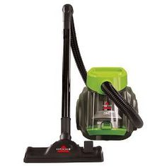 The Zing® Bagless Canister vacuum is a convenient whole-home cleaning system. Its lightweight, compact design makes traveling upstairs with the floor brush easy, especially since the Zing® has a carrying handle. You can also attach the extension wand or combination crevice tool/dusting brush to capture dirt and dust from your above-floor surfaces. Variable suction control means that you can turn the suction down and even clean fabrics like curtains.