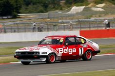 Group 1 Racing Ford Capri with a 2016 HTCC Donington Entry included Ford Motorsport, Ford Capri, Online Bidding, How To Know, Colorful Interiors, Touring, Race Cars, Racing, Drag Race Cars