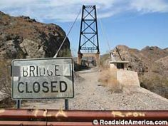 Bridge To Nowhere in Yuma, Arizona