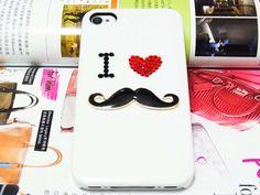 I <3 mustache iPhone case®