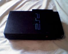 Sony Playstation 2 Console W/ Games and Ethernet and mutitap (PS2)(PLAYSTATION 2
