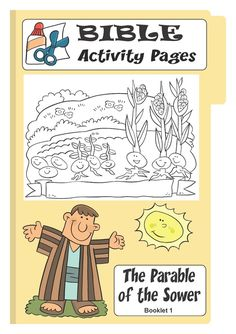 Free Printable Bible Activity Pages - The Parable of the Sower