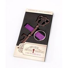 Antique Style Key Bottle Opener in Gift Packaging [977-9101 Key Bottle Opener Favor] : Wholesale Wedding Supplies, Discount Wedding Favors, Party Favors, and Bulk Event Supplies