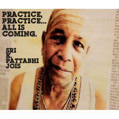 Shri K. Pattabhi Jois/Guruji the grnadfather of Sharath Jois and thr big daddy of what we know today as Ashtanga Yoga.