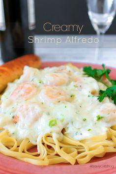 Shrimp Alfredo With Crab Seafood Pasta Recipe | Sassy Girlz Blog