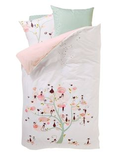 1000 images about linge de lit enfants on pinterest for Housse de couette 1 personne fille
