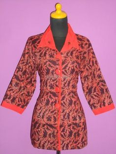 BLUS BATIK KANTORAN OKT 05 (SUPER EXCLUSIVE)