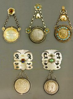 The history of women's jewellery in Ukraine IV - XVIII centuries