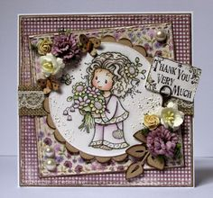 Love You Bunches (Sylvia Zet, Wee Stamps, Whimsy) - Papers (Maja Design, Fika)