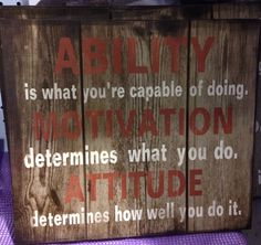 Ability, motivation and attitude. ~ www.icityretail.com