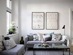 El gris es un color fácil de combinar en decoración y un acierto seguro. Si no quieres arriesgar, apuesta por el y el resultado te sorprenderá.