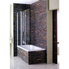 Discover bath screens at AQVA. Buy this Simpsons Design Semi Frameless Triple Bath Screen with discounted price. Shower Taps, Glass Shower Doors, Shower Enclosure, Chic Bathrooms, Amazing Bathrooms, Modern Bathroom, Bathroom Ideas, Bathroom Vanities, Bathroom Designs