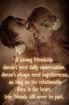 Friend, Bff, friendship Quote https://www.facebook.com/pages/Soul-Sisters/292563154227189?fref=ts