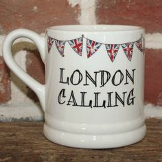 London Calling. Love the mug, but love the song more.