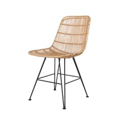 Products details - Furniture - Rattan dining chair natural