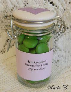 Førstehjelp for ekteskapet Kinky, Mason Jars, Ideas, Mason Jar, Thoughts, Glass Jars, Jars